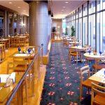 錦江湾と桜島 鹿児島県庁展望レストラン ラテラス