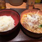 大阪梅田の三番街にあるカツ丼専門店!祭太鼓のかつ丼が絶品!