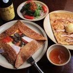 ブレッツカフェ クレープリー 名古屋タワーズプラザ店、本格的なガレットのお店